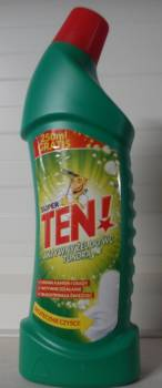 ŻEL DO WC TEN! 1000ml