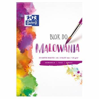 BLOK DO MALOWANIA OXFORD...
